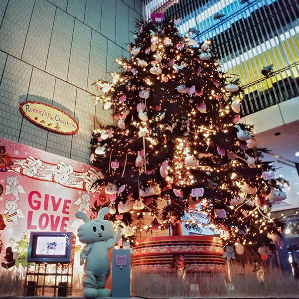 銀座ソニービル クリスマスツリー